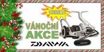 Naviják Daiwa Shorecast A za speciální Vánoční cenu!